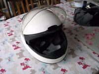 BMW White Ex Police Motor Cycle Helmet Weymouth