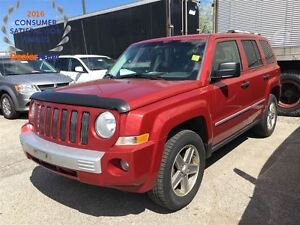 2008 Jeep Patriot LIMITED**4X4**LEATHER**HEATED SEATS**ALLOY WHE