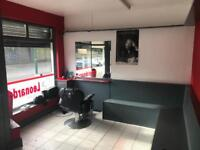 3 x chairs to let in barber shop