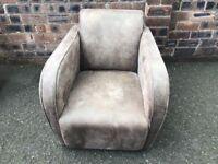 Tub style armchair