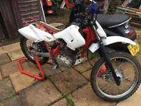 125cc Honda dirt bike