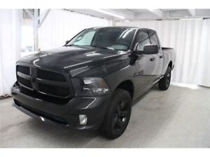 2017 Ram 1500 ST *BLACK EXPRESS, HITCH, A/C, MAGS NOIRS*