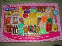 Childrens Plastic Toy Food - New