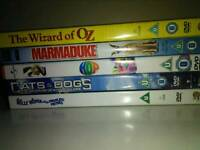 DVD bundle set of 5