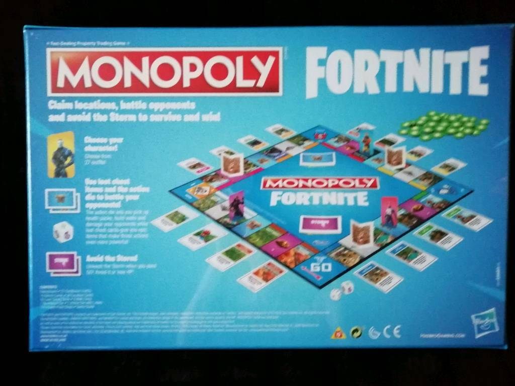 Fortnite Monopoly Board Game In Hartlepool County Durham Gumtree