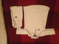 SLAZENGER CRICKET SHIRT AND TROUSERS