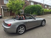 Immaculate Honda S2000, FSH just serviced by Honda with 12 months MOT