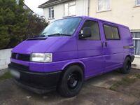 VW Transporter T4 Original Kombi Surf Bus Dayvan Camper modified Purple