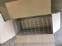 Designer showroom selling unused stock - beautiful polished chrome laundry cage