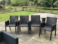 Fantastic clean outdoor furniture