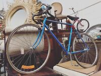 A rare vintage 1980's Peugeot racing bike.