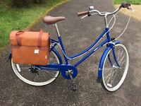 Bobbin Brownie Ladies Cycle - Navy Blue