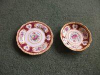 Royal Albert Tea plate and Saucer