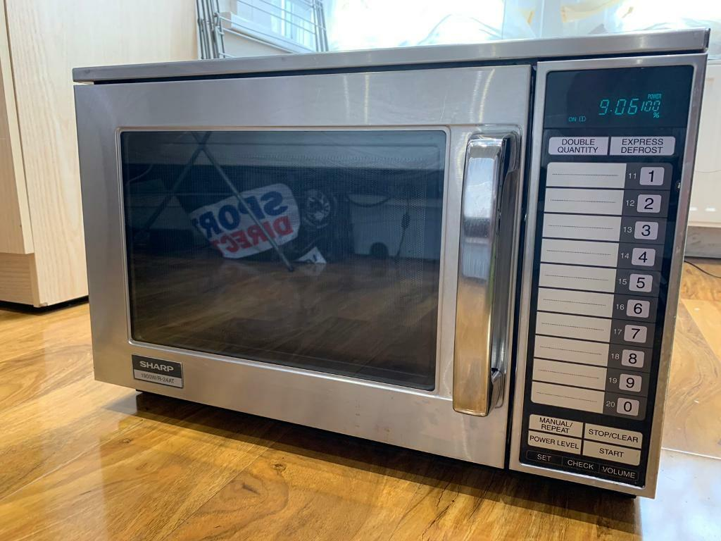 SHARP 1900/R-24AT Commercial microwave | in Newham, London | Gumtree