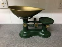 Victor Vintage style kitchen scales
