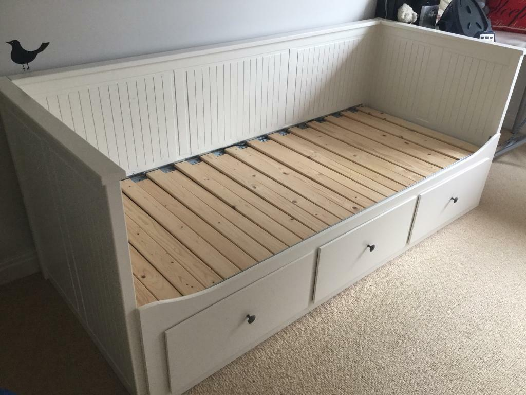 Ikea Hemnes Day Bed Frame With 3