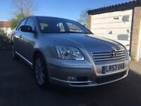 TOYOTA AVENSIS 1.8 PETROL AUTOMATIC HPI CLEAR