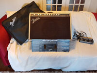 Fender Supersonic Guitar Amp - awesome amp complete with pedal, cover