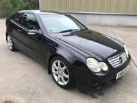 Stunning 2004 04 Mercedes C180 Se Kompressor 3Dr **2 Owners+Only 96k+1 Years Mot**