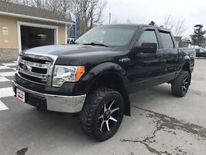 2013 Ford F-150 XLT 6 Inch lift Big Wheels