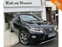 2013 LEXUS RX450H LUXURY,HYBRID,AUTO,SATNAV,HEATED LEATHER,BLUETOOTH,FULL LEXUS HISTORY,FULL OPTION