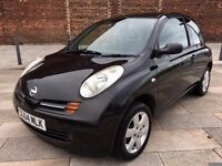 2004 NISSAN MICRA SX ++ LOW MILEAGE ++ ELECTRIC WINDOWS ++ CD ++ FULL MOT.