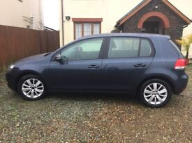 VW Bluemotion SportsMatch Golf, excellent condition 2012 1.6 TDI