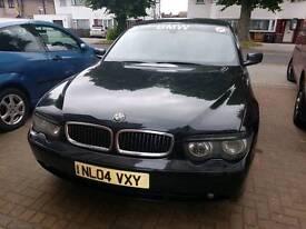 BMW 7 SERIES DIESEL 2004