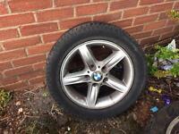 BMW 5. Spoke alloys