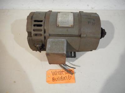 Boston Gear Dc Motor V95000b-b27f12w08 56c 12 Hp 1750rpm 9010050 Volts