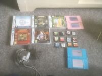 Nintendo ds bundle with 17 games 2 consoles
