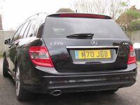 Mercedes Benz C Class C220 CDI Sports Estate Automatic -Black