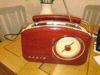 Retro Style Radio For Sale