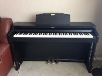 Roland HP504RW Piano - 88 Note Digital Piano - Rosewood - As New