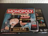 Monopoly game used once