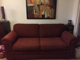 3 Seater Sofa from Furniture Village Stain Free