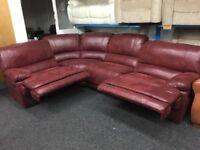 New/Ex Display LazyBoy Guvnor Corner Recliner Sofa (Left or Right Side Corner)