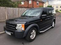 Land Rover discovery 3 2.7 diesel tdv6 auto 7 seater 2005
