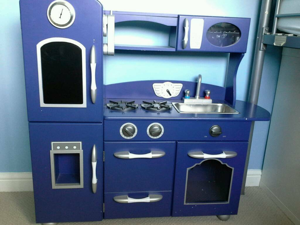 blue wood play kitchen 23 best toddler playroom images on pinterest ...
