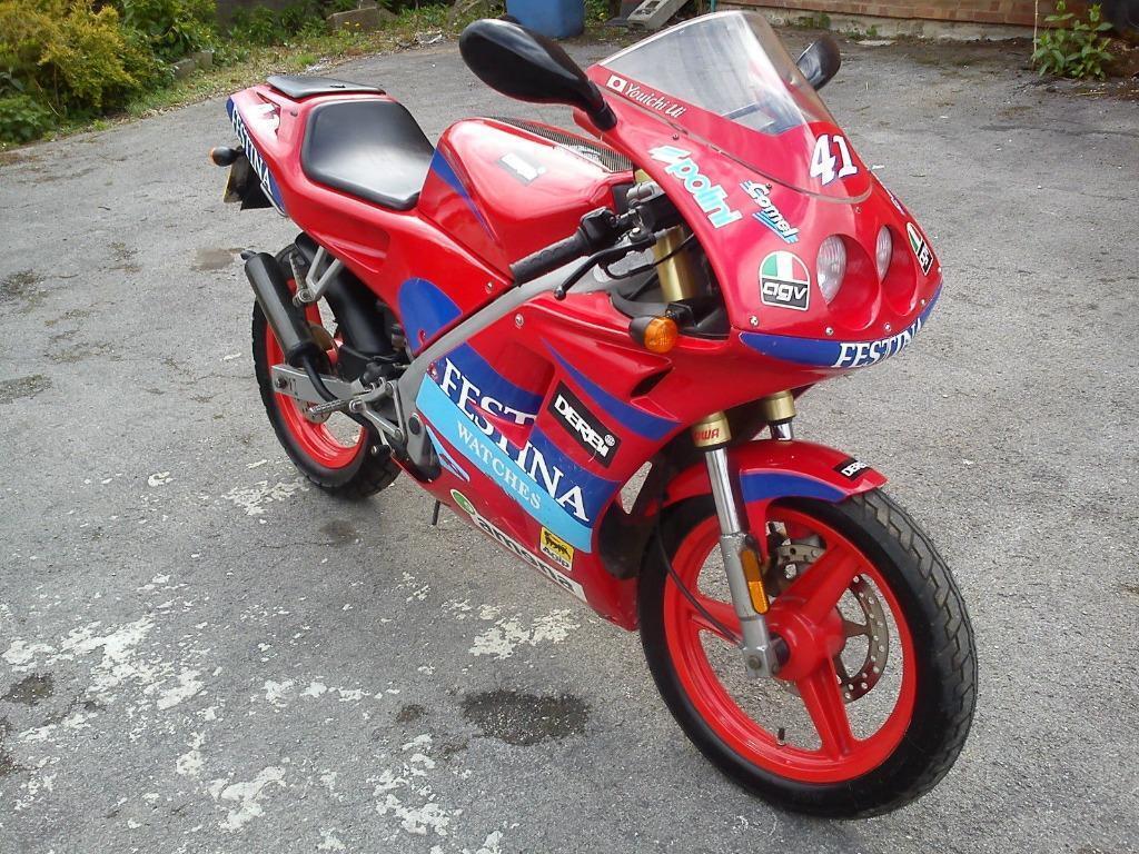 Derbi gpr50 festina youichi ui race replica no293 of 1000 built aprilia rs50