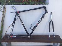 VICINI Columbus SLX 56cm vintage italian road bike frame (with campagnolo components)