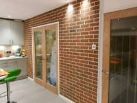 Get the gorgeous loft look with brick slips
