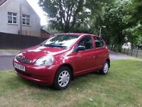 Toyota yaris 1.0 LPG Gas converted 5 doors, one year MOT , DRIVES EXCELLENT
