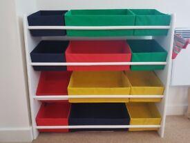4 Tier storage unit