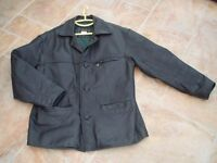 MENS QUALITY HEAVY LEATHER JACKET
