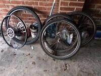 Mountain bike wheels/gears