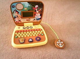 Jake and the neverland pirates treasure hunt laptop toy