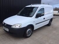 2008 (58) Vauxhall Combo 1.3 CDTi 16v 1700 Panel Van 3dr 2 Keys Long MOT May Px Finance Available