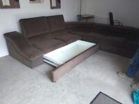 Corner sofa bed few months old