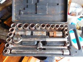 Old But Useable Wickes Socket Set